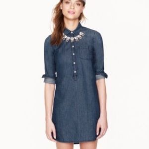 J Crew Keepers Chambray Dress